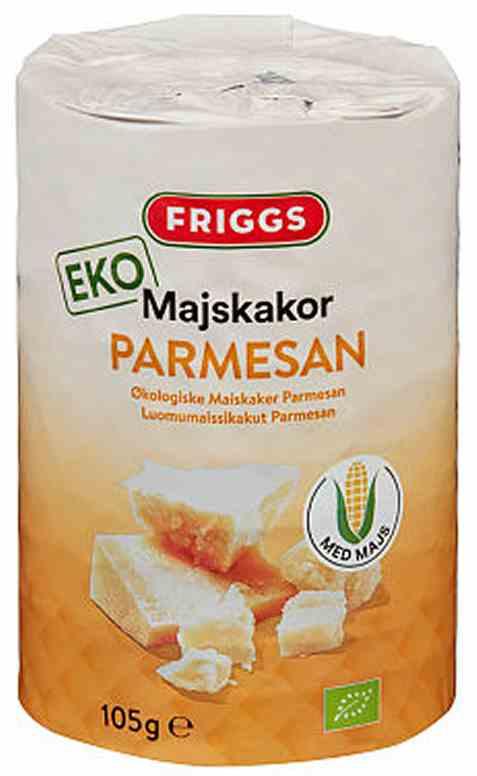 Bilde av Friggs maiskaker parmesan.