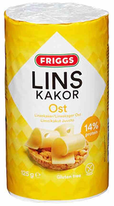 Bilde av Friggs linsekaker ost.