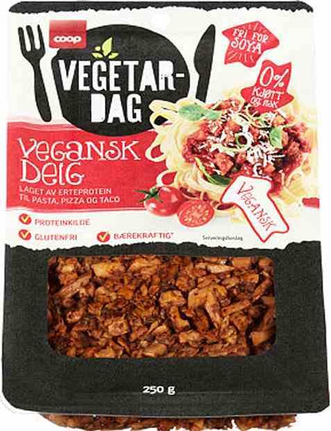 Bilde av Coop vegetardag vegansk deig 250gr.