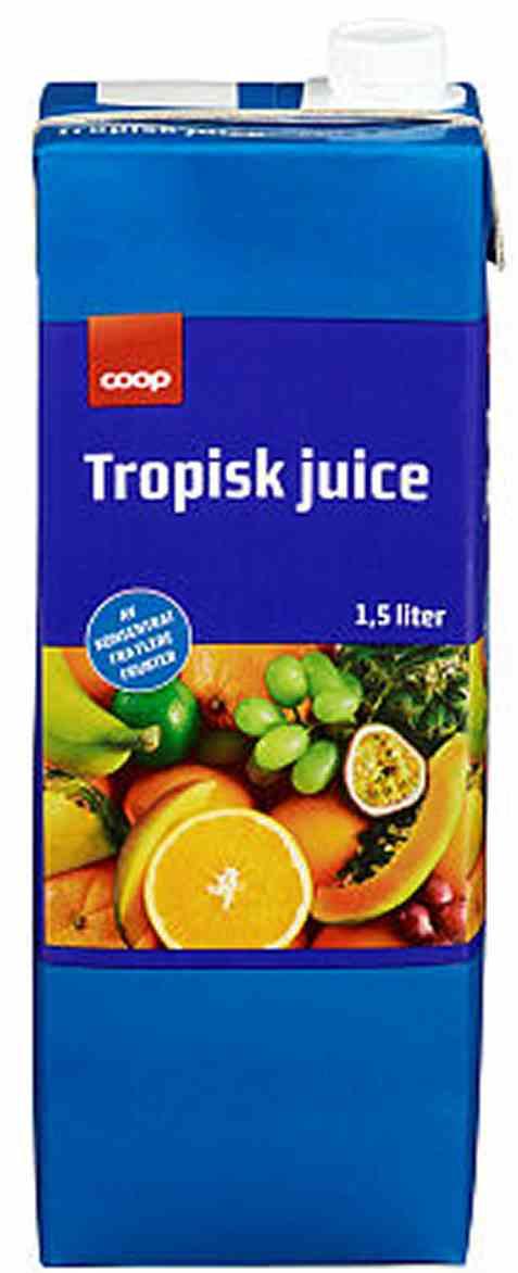 Bilde av Coop tropisk juice 1,5l.