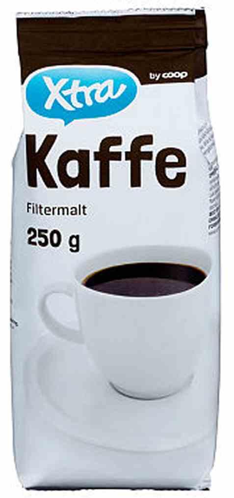 Bilde av Coop Xtra kaffe 250gr.