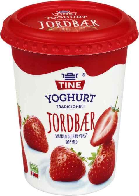 Bilde av TINE Yoghurt Jordbær.