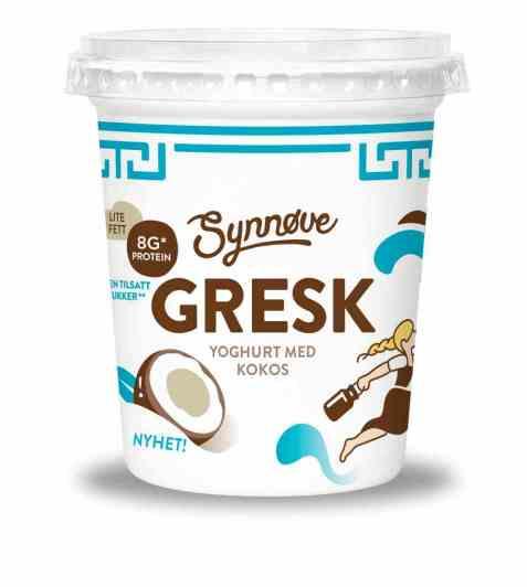 Bilde av Synnøve gresk yoghurt kokos.