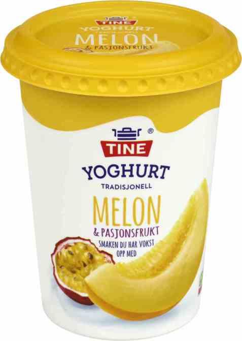 Bilde av TINE Yoghurt Melon/Pasjonsfrukt.