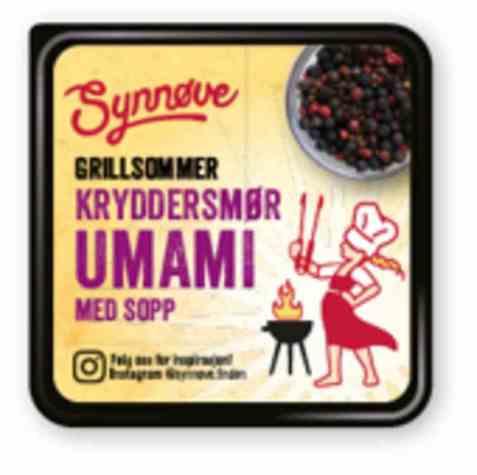 Bilde av Synnøve Kryddersmør umami med sopp.