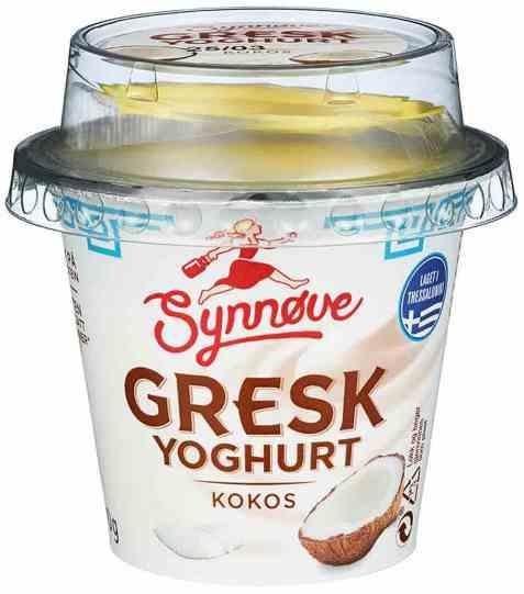 Bilde av Synnøve gresk yoghurt kokos 100gr.
