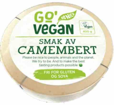 Bilde av Synnøve Go' Vegan camembertsmak.