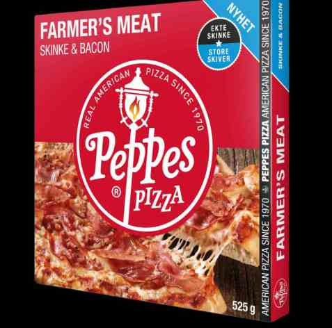 Bilde av Peppes farmers meat pizza 525gr.