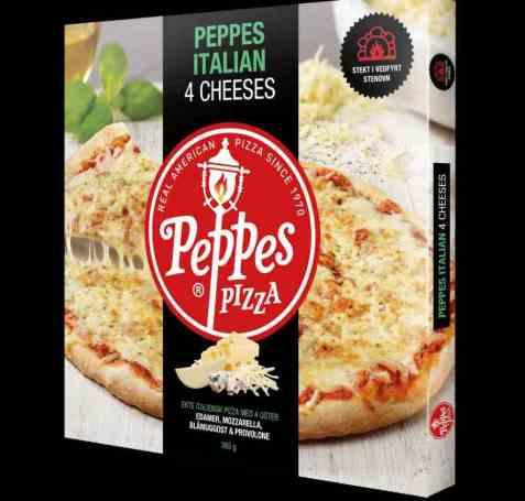 Bilde av Peppes italian 4 cheeses.