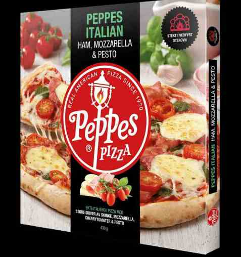 Bilde av Peppes italian ham og pesto.