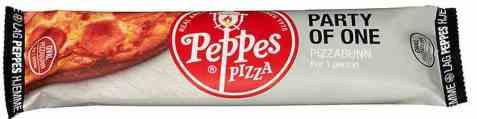 Bilde av Peppes pizzabunn porsjonspizza.