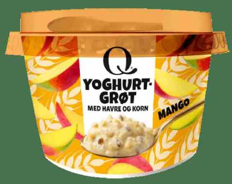 Bilde av Q Yoghurtgrøt mango.