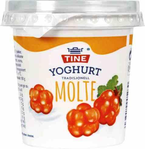 Bilde av TINE Yoghurt Molte.