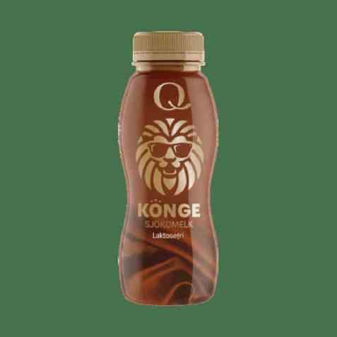 Bilde av Q konge sjokolademelk 330ml.