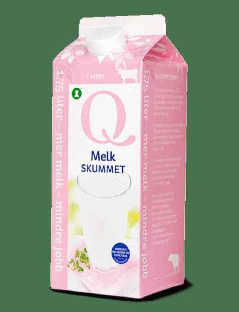 Bilde av Q melk skummet 1,75 l.