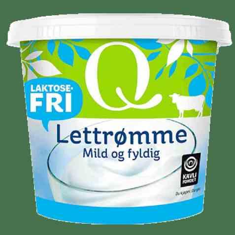 Bilde av Q lettrømme laktosefri.