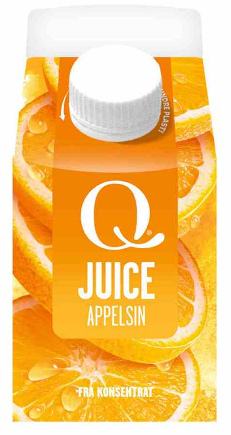 Bilde av Q appelsinjuice 0,25 l.