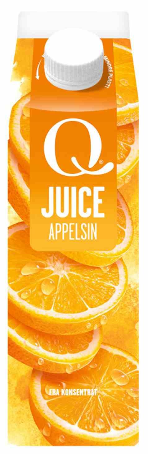 Bilde av Q appelsinjuice 0,5 l.