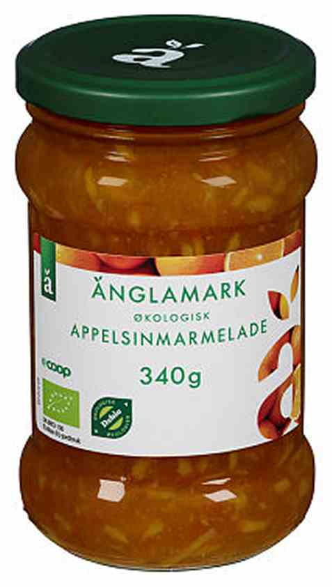 Bilde av Coop anglamark Økologisk appelsinmarmelade.