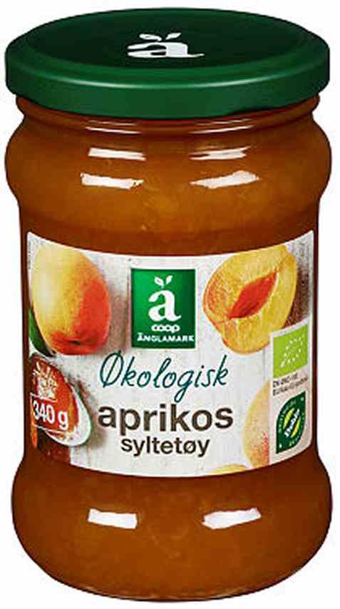 Bilde av Coop anglamark Økologisk aprikossyltetøy.