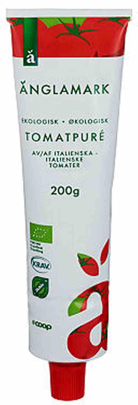 Bilde av Coop anglamark Økologisk tomatpure.
