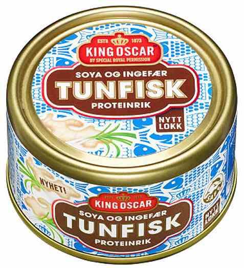 Bilde av King Oscar tunfisk med soya og ingefær.