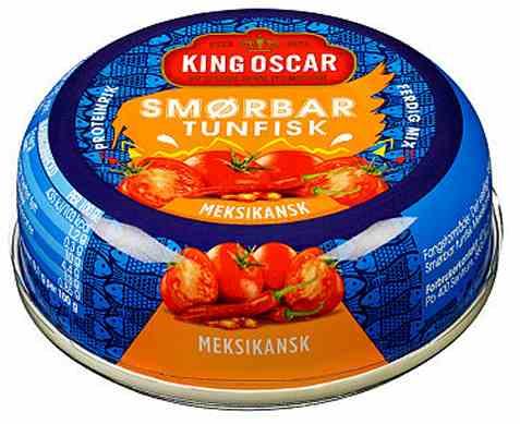 Bilde av King Oscar smørbar tunfisk meksikan.
