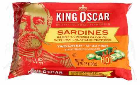 Bilde av King Oscar sardiner i jalapeno 106gr.