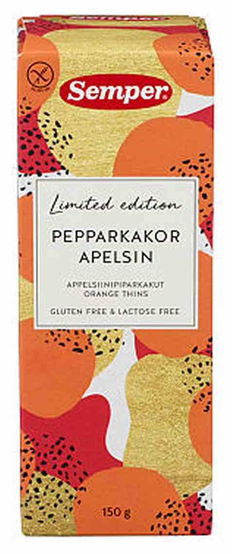 Bilde av Semper pepperkaker med appelsin.