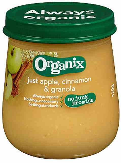 Bilde av Semper organix eple og kanel granola.