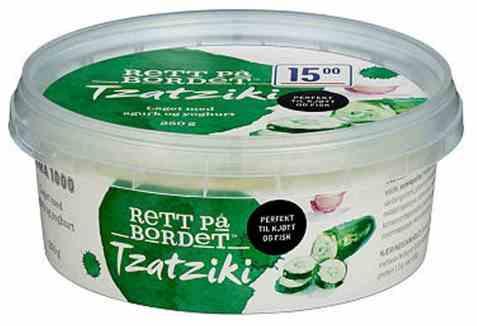 Bilde av Rema 1000 tzatziki 250gr.