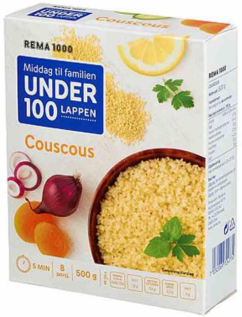 Bilde av Rema 1000 couscous 500gr.