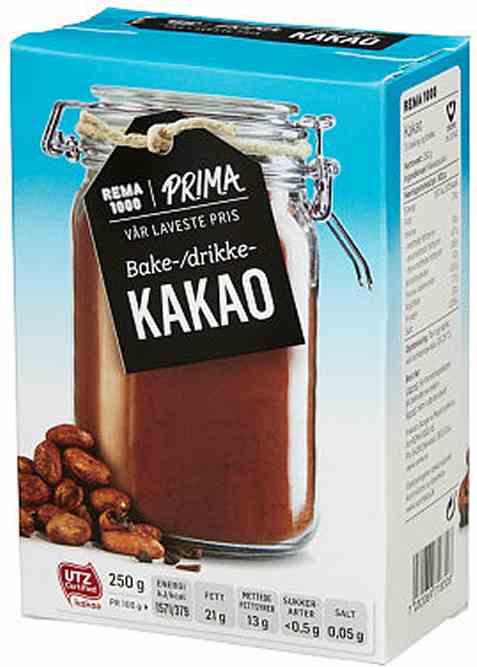 Bilde av Rema 1000 kakao 250gr.