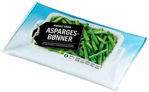 Bilde av Rema 1000 aspargesbønner 300gr.