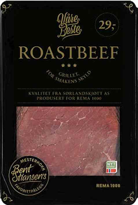 Bilde av Rema 1000 roastbeef 100gr.