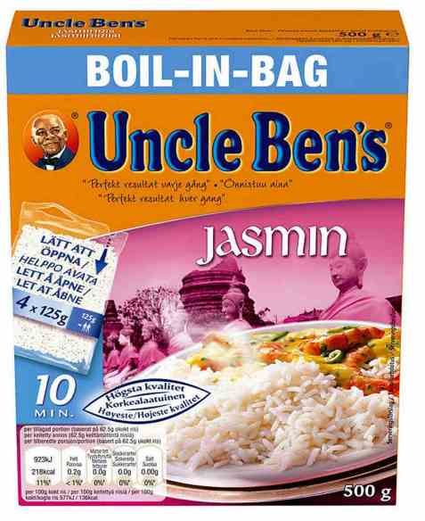 Bilde av Uncle Bens boil in bag jasminris 500gr.