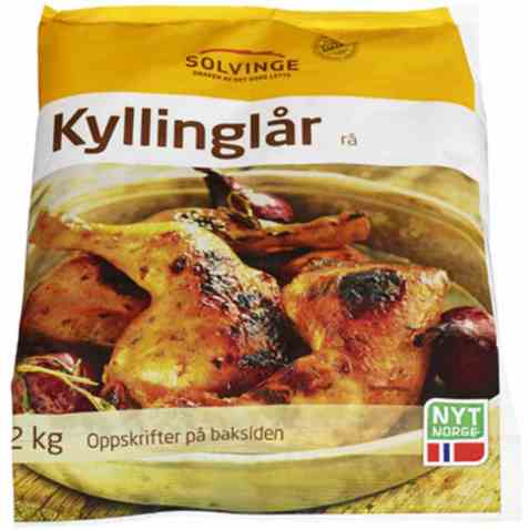 Bilde av Solvinge rå kyllinglår 2kg.