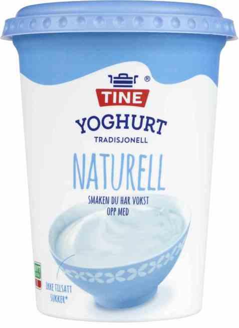 Bilde av TINE Yoghurt Naturell.