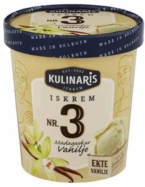 Bilde av Kulinaris ekte vaniljeiskrem.