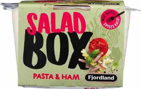 Bilde av Fjordland box pasta and ham salad.