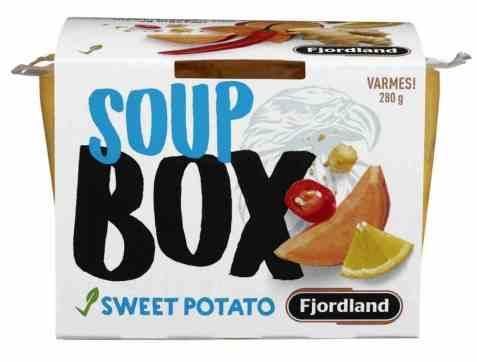 Bilde av Fjordland box sweet potato soup.