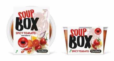 Bilde av Fjordland box spicy tomato soup.
