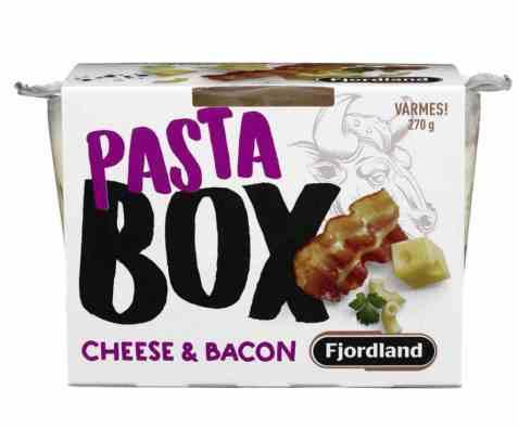 Bilde av Fjordland box pasta cheese and bacon.
