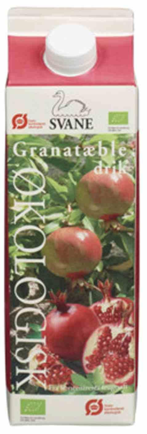 Bilde av Friele foods økologisk granatepledrikk.