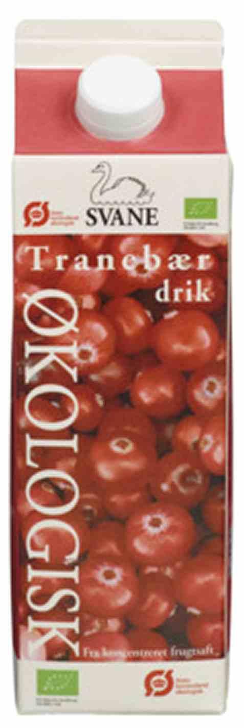 Bilde av Friele foods økologisk tranebærdrikk.