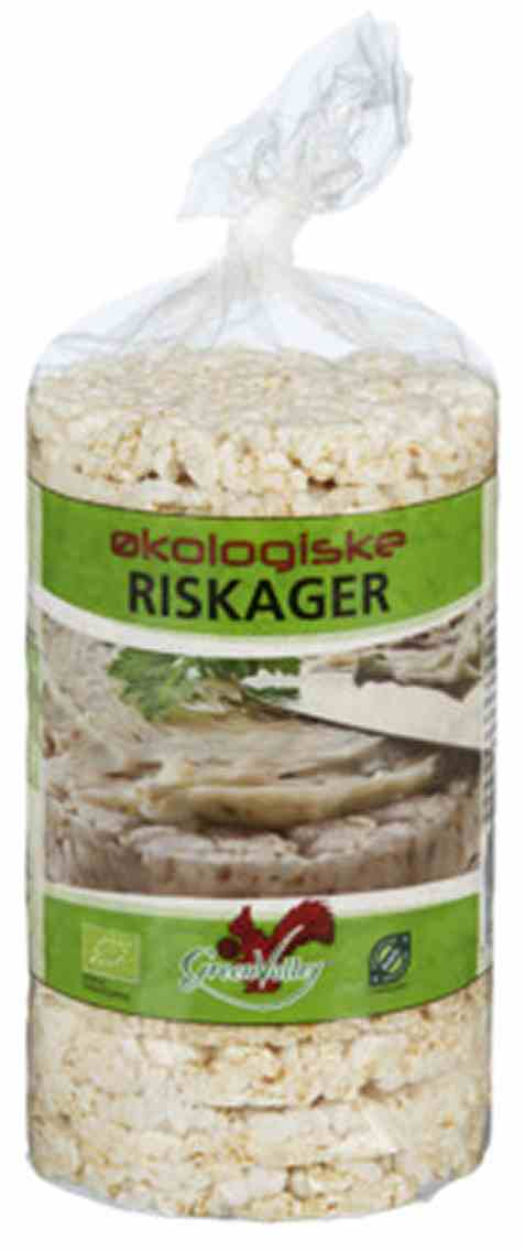Bilde av Friele foods økologiske riskaker uten salt.