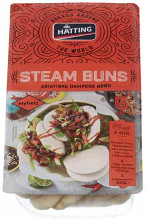 Bilde av Hatting steam buns.