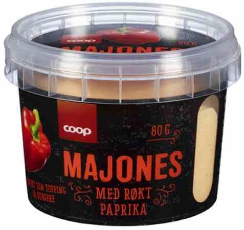 Bilde av Coop Majones med røkt paprika 80g.