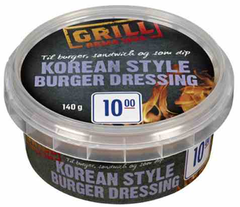 Bilde av Rema 1000 Korean Style Burger Dressing.