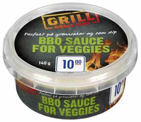 Bilde av Rema 1000 Bbq Sauce For Veggies.